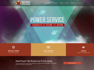 Word Focus Chapel